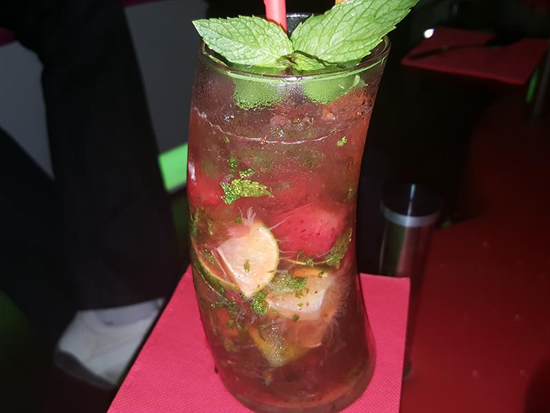 mojito fraise-saveurs antillaises