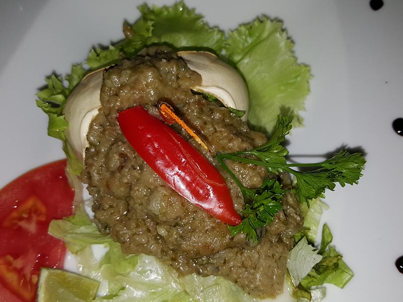 crabe de terre farçi